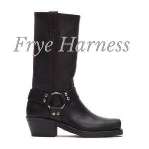 Frye Harness Boots Women's Sz 10